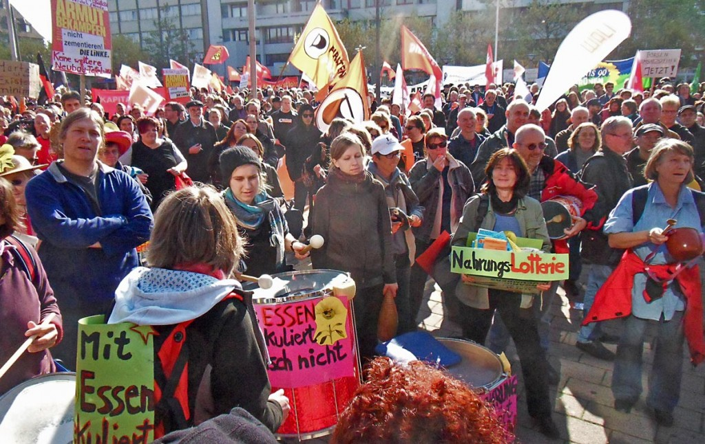10/2010 Oldenburg Demo KRACH SCHLAGEN